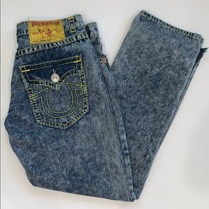True Religion Johnny Super T Jeans 38